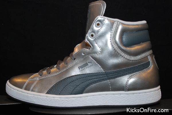 Puma First Round - Metallic Silver
