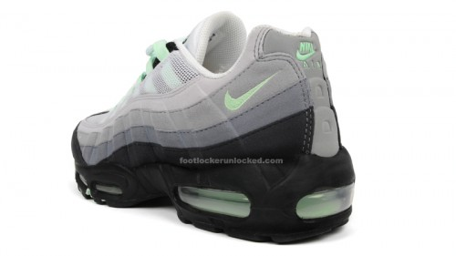 air max 95 mint green