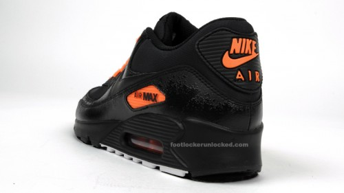 air max 90 black total orange
