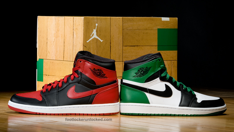 Air Jordan 1 20 Avril 1986 Celtics
