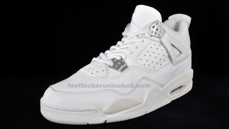 ... White/White/Chrome Air Jordan Retro 4 that released in 2000 without any  mesh? Unlike ...