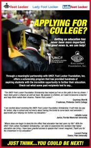 Foot Locker Foundation UNCF Scholarship 2011 Unlocked