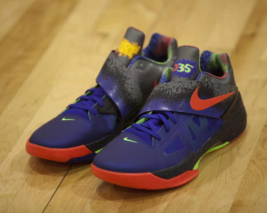 uk availability a8c78 9b04d Nike Zoom KD 4 Nerf HOH Locations