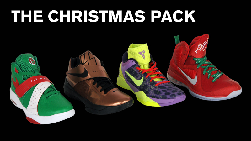 the christmas pack shoes