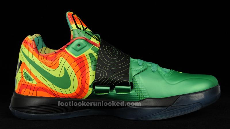 new concept 27f69 0c4d0 Nike Zoom KD 4 Weatherman – Foot Locker Blog