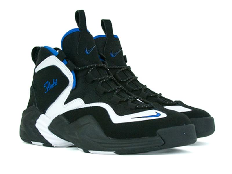Nike Air Foamposite Pro Dr Doom Black White Penny Hardaway