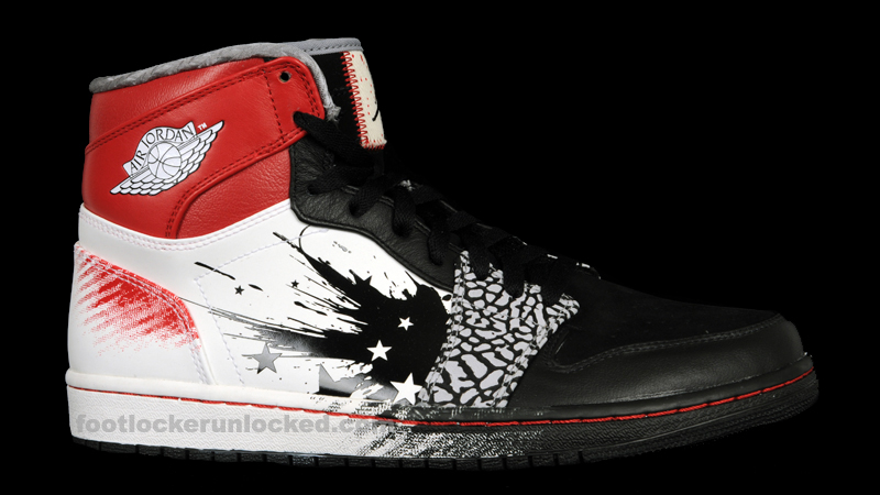 Air Jordan 1 Dave Casier Blanc De Pied