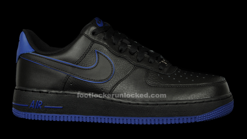 Nike Air Force 1 Black/Blue – Foot Locker Blog