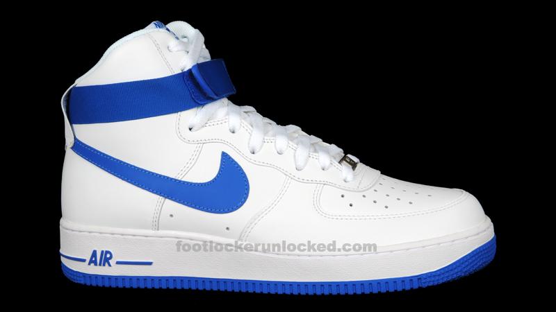 "Nike Air Force 1 Hi ""Soar Blue"" – Foot Locker Blog"