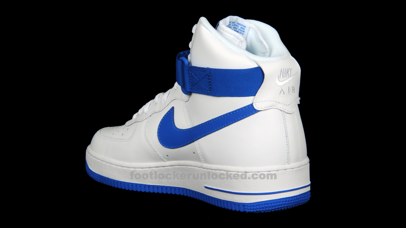 nike air force 1 blue and white high school