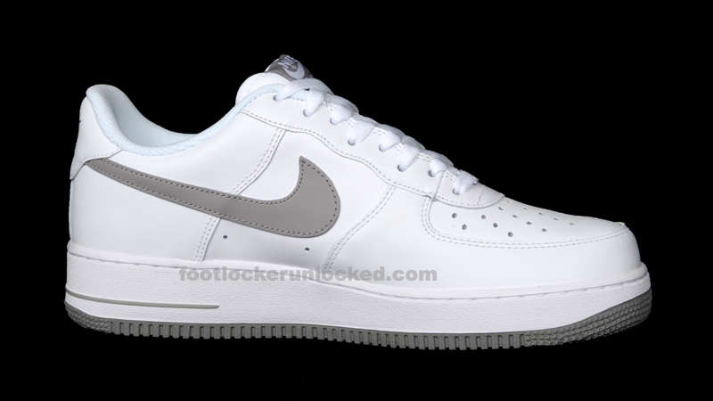 Nike Air Force 1 White Grey – Foot Locker Blog fc67bbc0bd