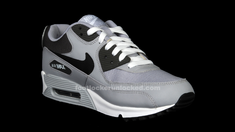 grey black air max 90
