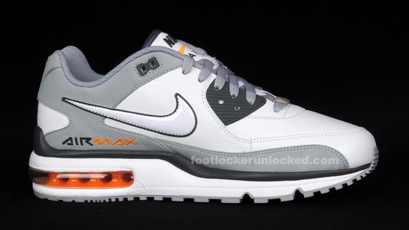 nike air max wright white grey orange