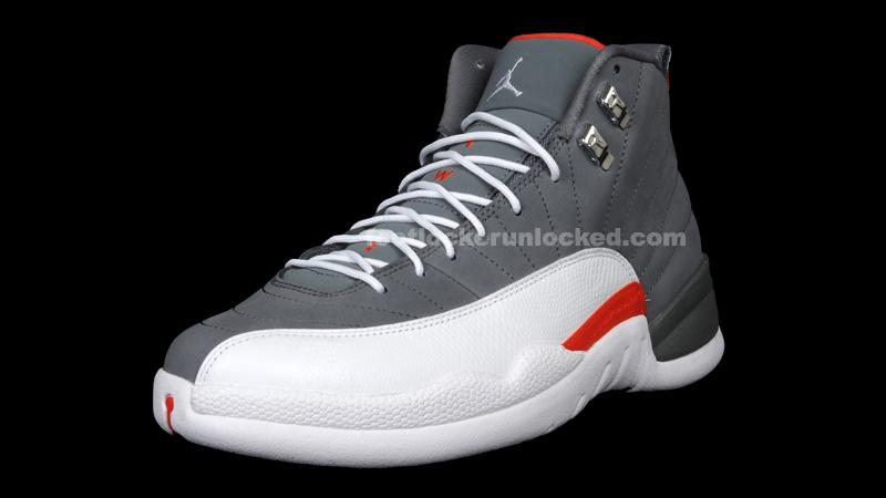 Jordan Retro 12 Grey Orange