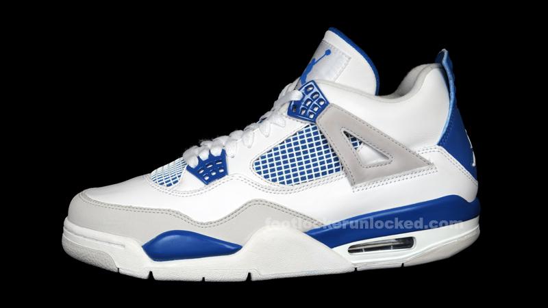 Air Jordan 4 De Footlocker Bleu Militaire