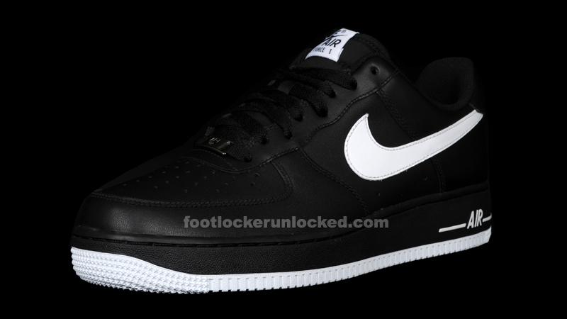 a3752b794936 Nike Air Force 1 Low Black White Black – Foot Locker Blog