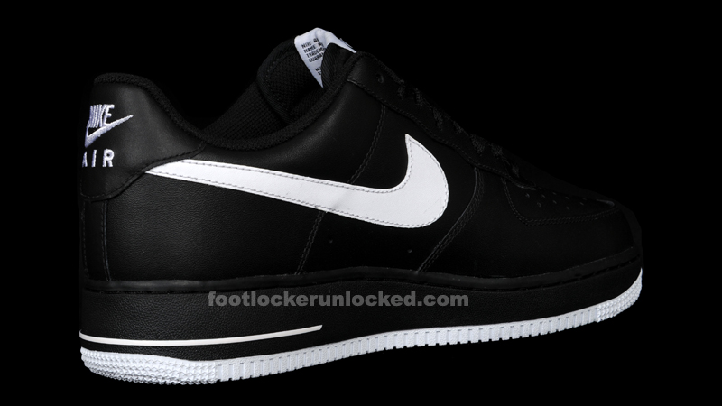 Nike Air Force Black And White