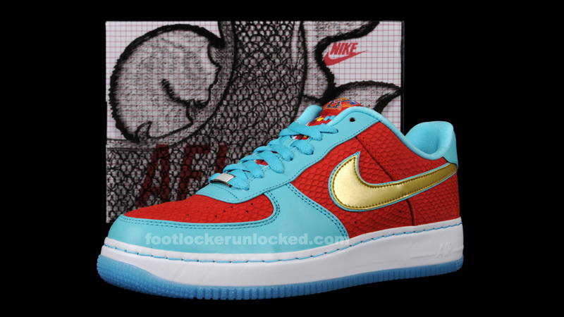 Continuing with their line of Premium Air Force 1s to celebrate the 30th  anniversary ...