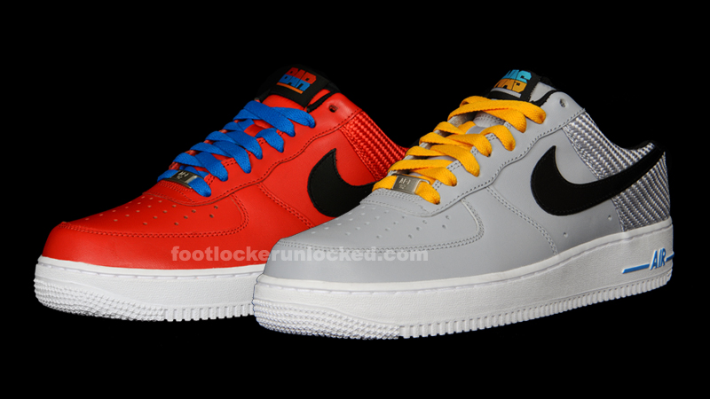 Nike Air Force 1 Casier Pack Bruissement De Pied