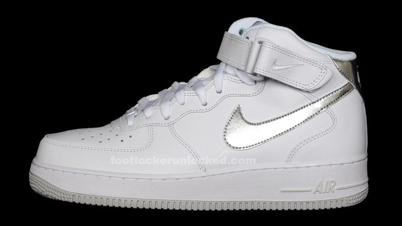 air force 1 white mid