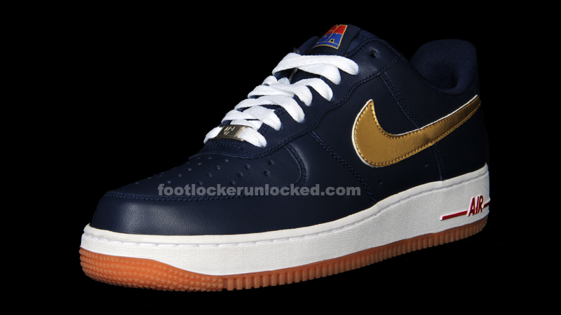 nike air force 1 low olympics midnight navy metallic gold