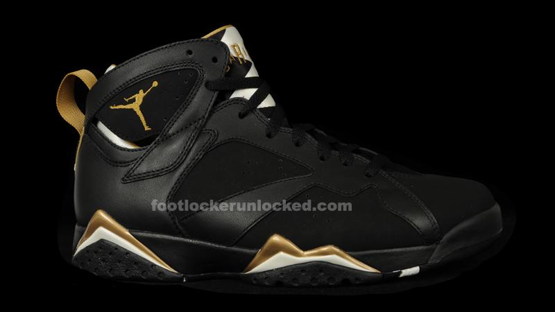 Jordan Retro 7 Gold