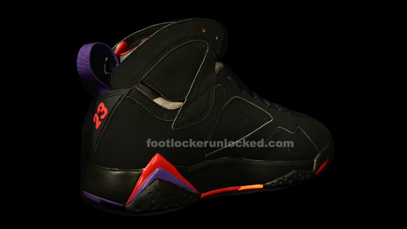 "11c1232cacab Jordan Retro VII ""Raptors"" – Foot Locker Blog"
