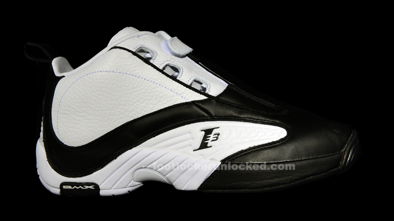 reebok answer iv black white for sale