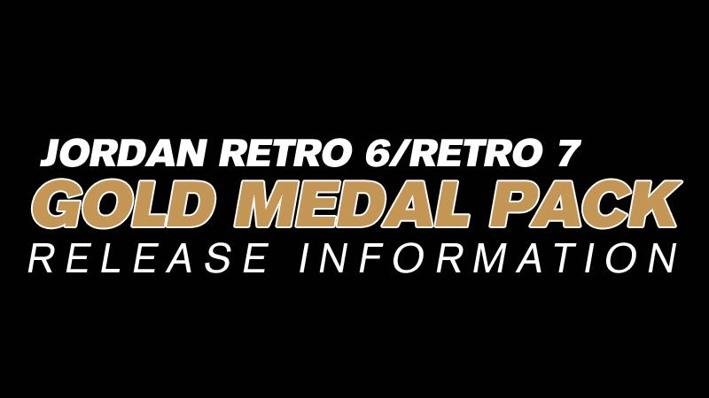"Retro Jordans 7 Gold Jordan Retro 6/7 ""gold Medal"