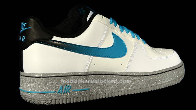 Led Light Up Nike Air Force One Lighting Soles White Sneakers for