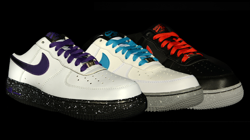 nike air force 1 galaxy pack