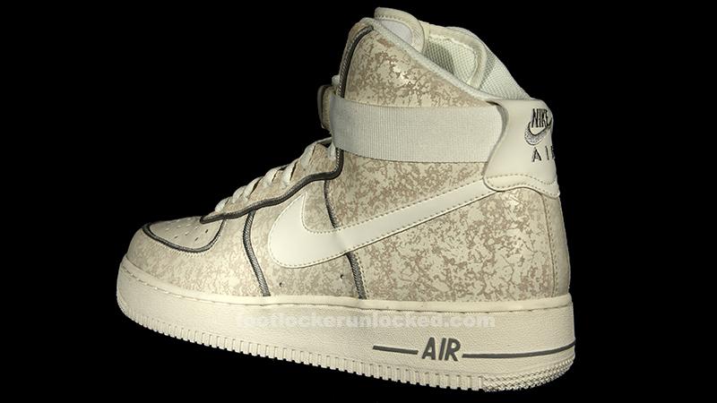 Nike Air Force 1 Hi Summit White/Summit White-Matte Silver. Nike ...