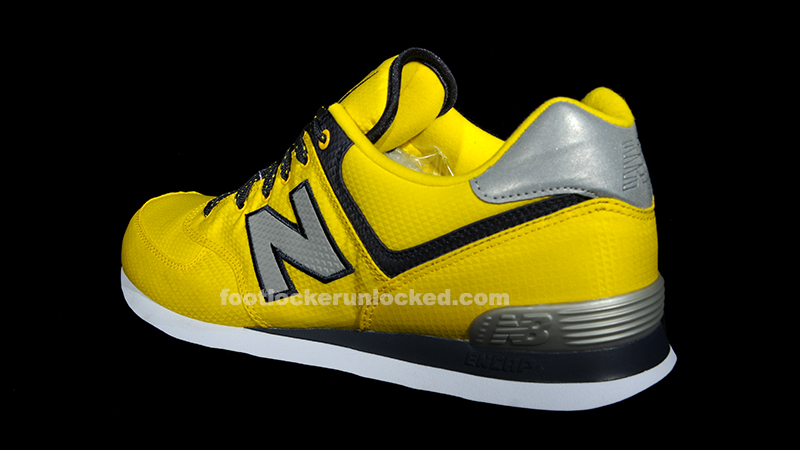 black and yellow new balance 574