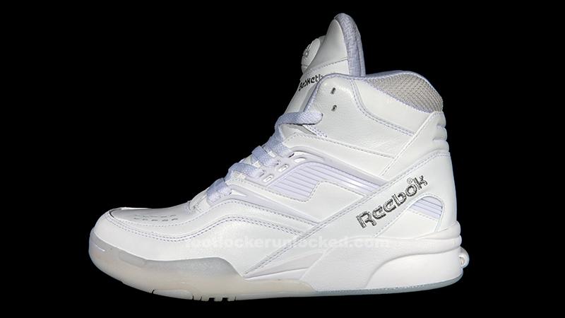 all white reebok