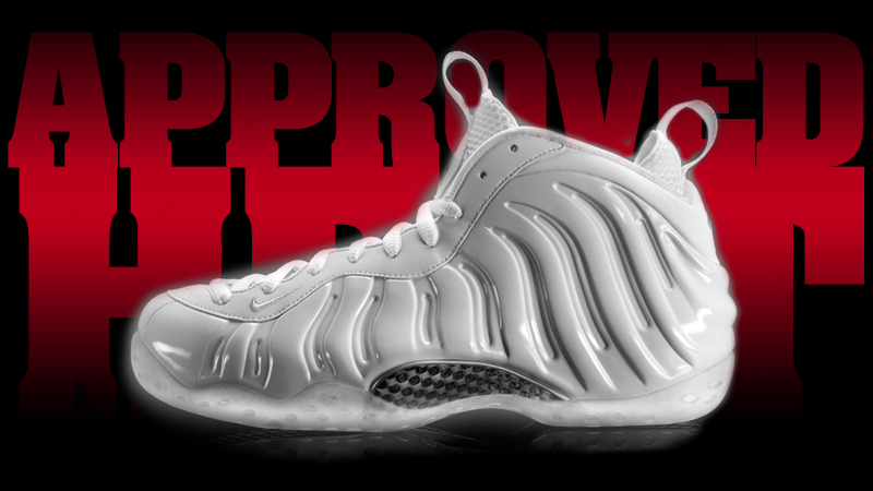 314996100 Nike Air Foamposite One White Out White ...