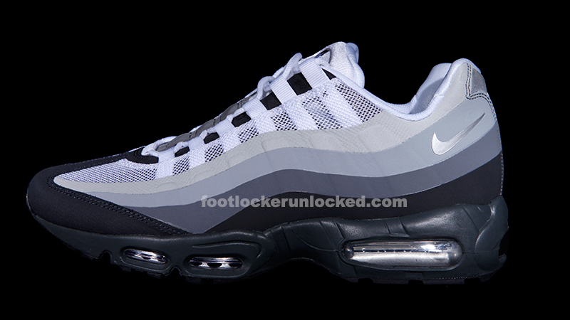 air max 95 white grey