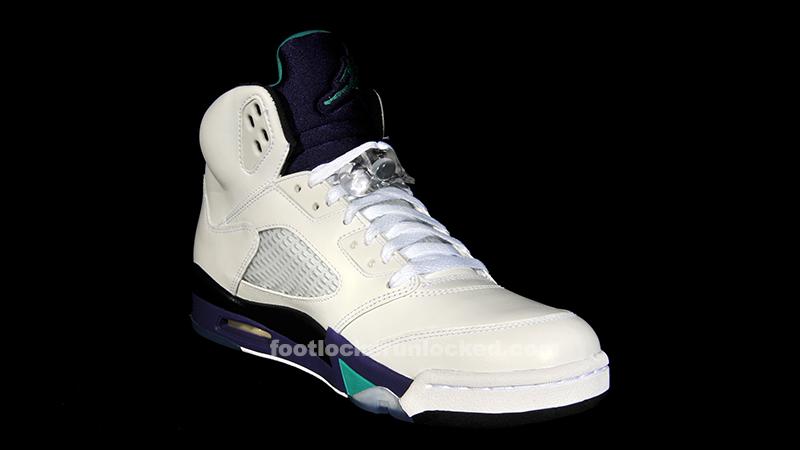 Jordan 5 grape socks