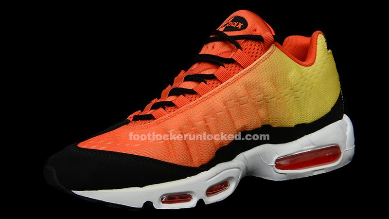Nike Air Max 95 Orange And Black