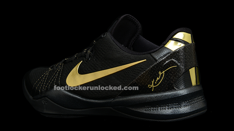 black and gold kobes