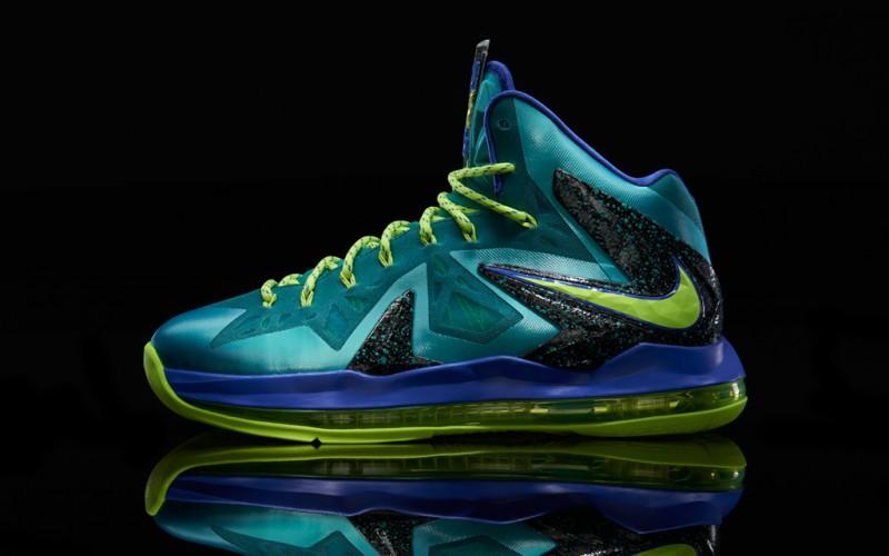 "newest fb492 7f1e9 Nike LeBron X PS ELITE ""Sport Turquoise"" – Foot Locker Blog"