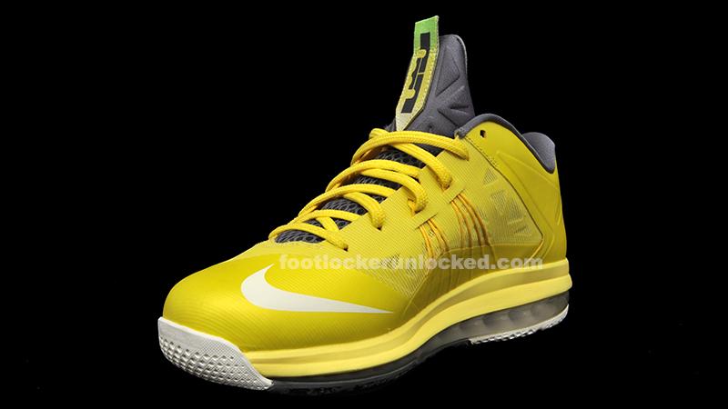 "f0780226a726 Nike Air Max LeBron X Low ""Sonic Yellow"" – Foot Locker Blog"