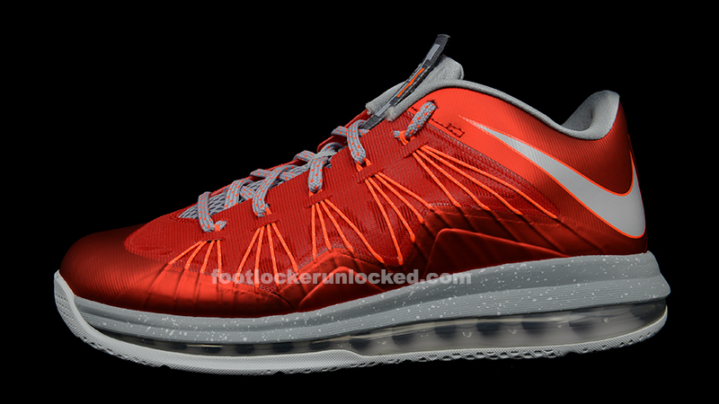 Nike Air Lebron James X Low Red Basketball Shoes