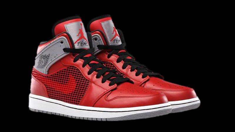 retro 1 jordans red