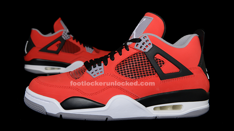 nike air jordan 4 retro iv toro bravo red sway
