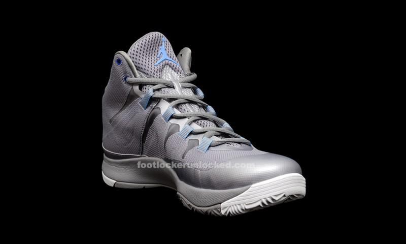 Air Jordan Superfly 2 Grey And Blue