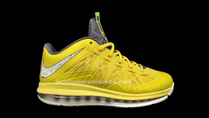 "Nike Air Max LeBron X Low ""Sonic Yellow"""