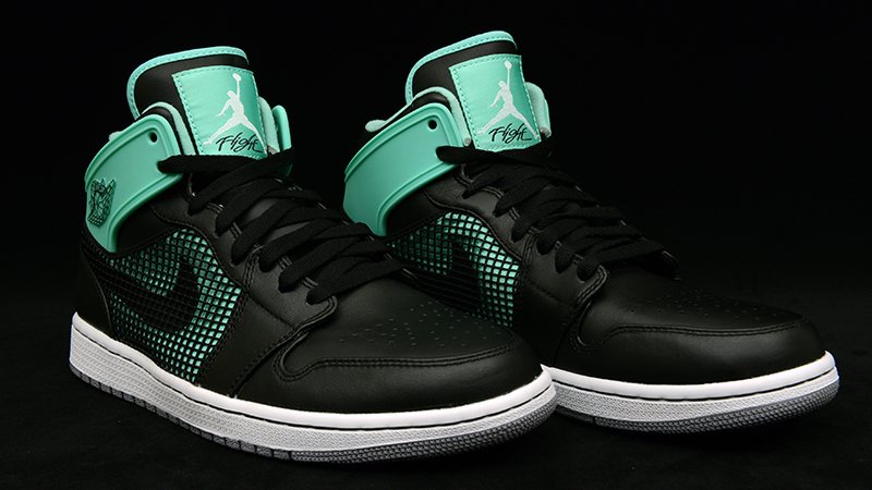 nike air jordan 1 retro 89 green glow