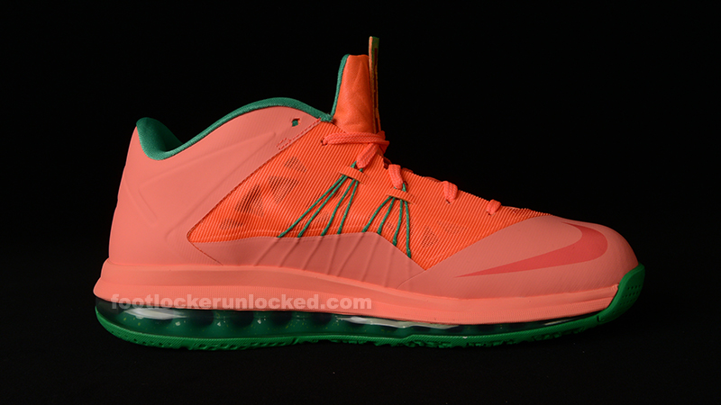 "best sneakers 9dcce 81f93 Nike Air Max LeBron X Low ""Watermelon"" – Foot Locker Blog"
