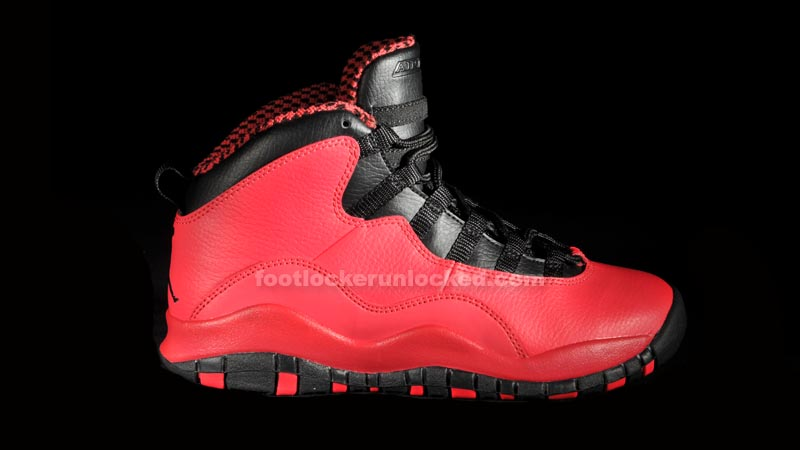 "df6b139f981 Girls GS Air Jordan 10 Retro ""Fusion Red"" – Foot Locker Blog"