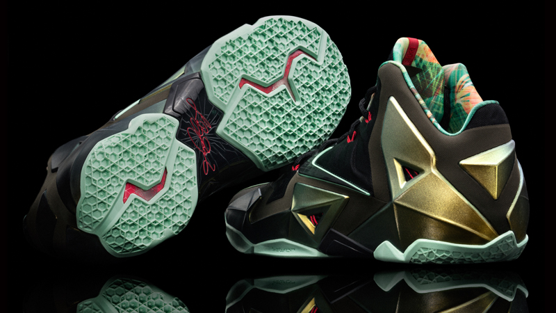 "ab4f1e7fddd0 Nike LeBron 11 ""King s Pride"" – Foot Locker Blog"